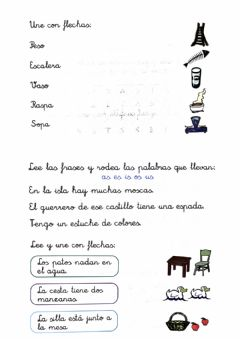Interactive worksheet Sílabas inversas 4