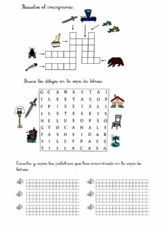 Interactive worksheet Sílabas inversas 5