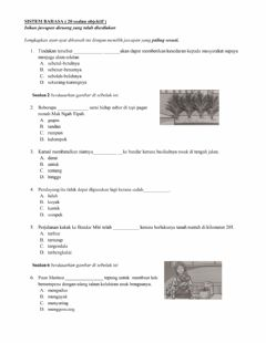Interactive worksheet Sistem Bahasa