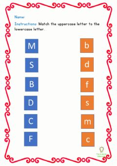 Interactive worksheet Letter Review