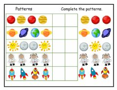 Ficha interactiva Patterns Review