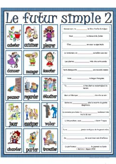 Interactive worksheet Futur simple