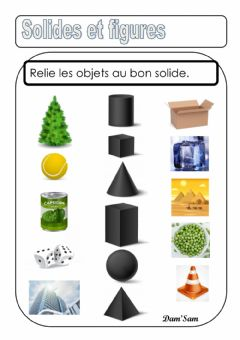 Interactive worksheet Solides