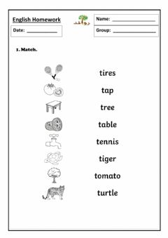 Interactive worksheet Lesson3: T sound