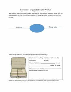Interactive worksheet Arusha Article Notes and Questions