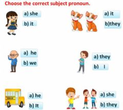 Interactive worksheet Pronoun
