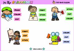 Interactive worksheet In the Classroom (Choose)
