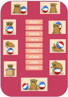 Interactive worksheet Preposiciones