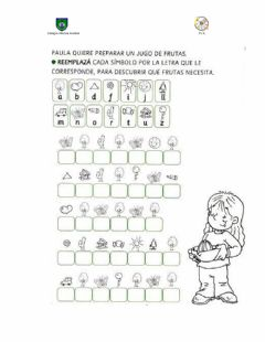 Interactive worksheet Escritura en carro