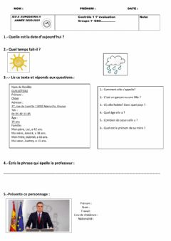 Interactive worksheet Examen 1