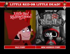 Interactive worksheet Little Dead Riding Hood