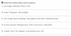 Interactive worksheet Adverbs of certainty