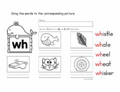 Interactive worksheet Diagraph wh