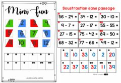 Interactive worksheet Soustraction SP (Pat-in&Moi)
