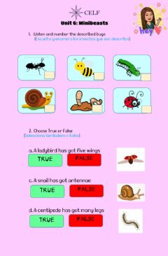Interactive worksheet 4th Grade Exit pass 6