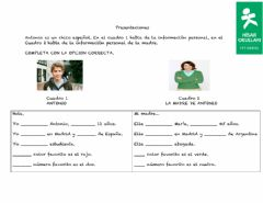 Interactive worksheet Presentaciones