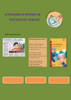 Interactive worksheet Tipologia textual