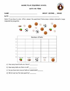 Interactive worksheet Evaluation 4th term second grade Geo