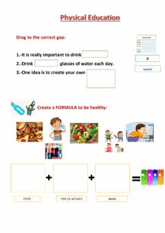 Interactive worksheet Physical Education