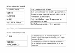 Interactive worksheet Factores climáticos