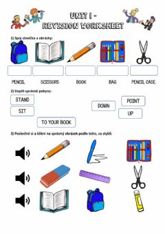 Interactive worksheet Revision - Unit 1 (Chit Chat 1)