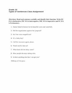 Interactive worksheet Purpose Sentences
