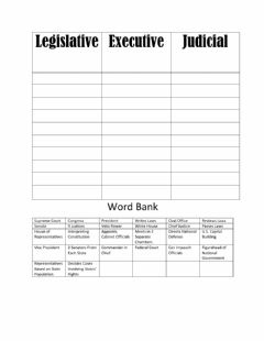 Interactive worksheet 3 branches