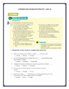 Interactive worksheet Listening - Vocabulary Practice A2