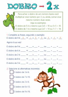 Interactive worksheet Dobro