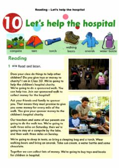 Ficha interactiva Reading - Let's help the hospital