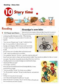 Interactive worksheet Reading - Story Time