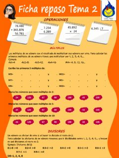 Interactive worksheet Repaso Tema 2