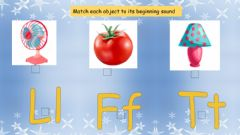 Interactive worksheet Letters Ll Tt Ff revision