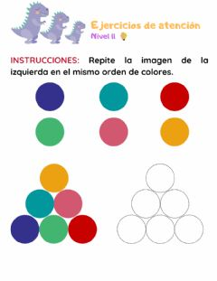 Interactive worksheet Atencion