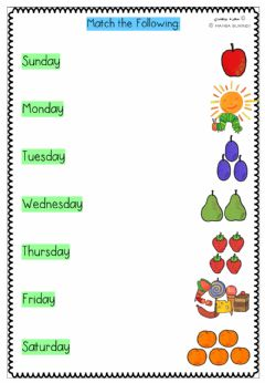 Interactive worksheet The Very Hungry Caterpillar-Matching