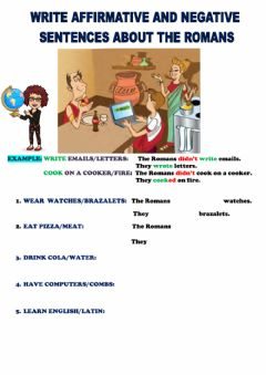 Interactive worksheet At the Dig: The Romans
