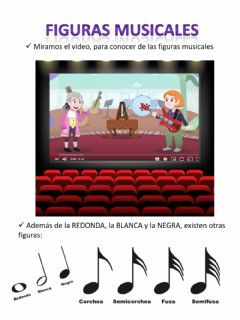 Interactive worksheet Figuras musicales nivel inicial