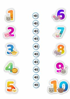 Interactive worksheet Numbers 1-10