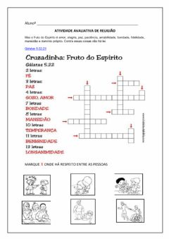 Interactive worksheet RELIGIÃO