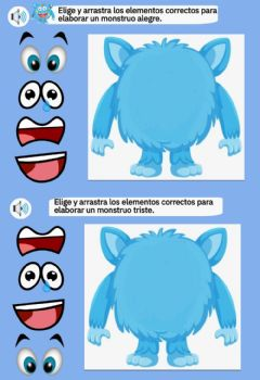 Interactive worksheet Las emociones de Colorino