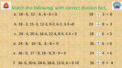 Interactive worksheet Repeated Subtraction