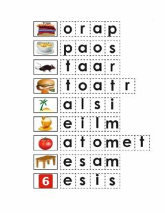 Interactive worksheet Palabras con m, s, t, l