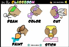 Interactive worksheet In the Classroom (Revision)