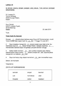 Interactive worksheet Karangan JR4