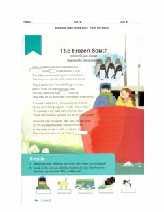 Interactive worksheet 6-The Frozen South p. 46
