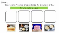 Interactive worksheet Sequencing Pictures -1