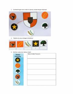 Interactive worksheet Pancasila Bab 1