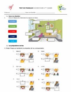 Interactive worksheet Test 2 - 4to Primaria Hispano