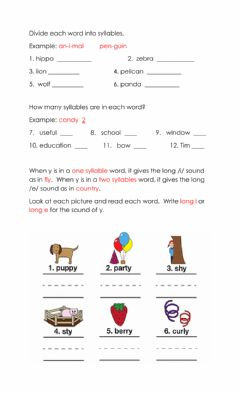 Interactive worksheet Phonics and Spelling Practice