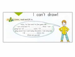 Interactive worksheet Can-can-t